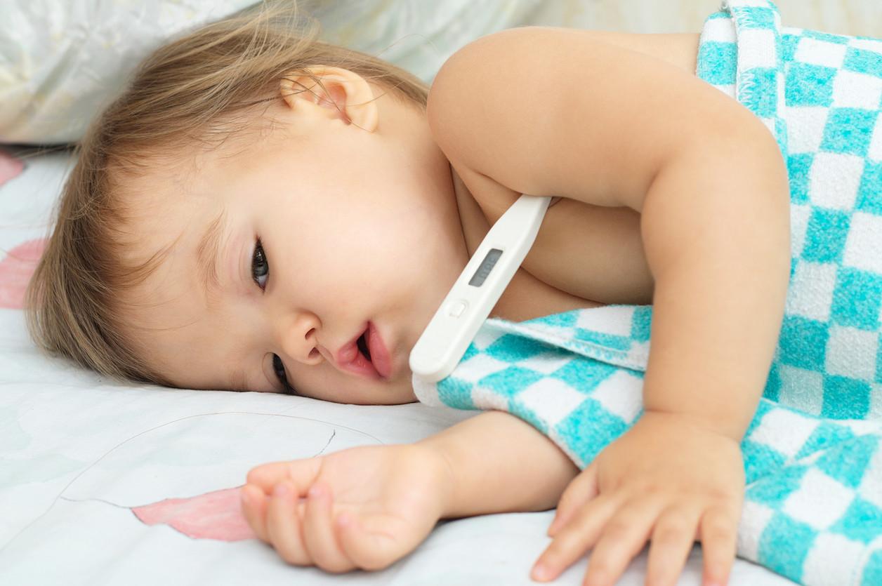 Fiebre bebé