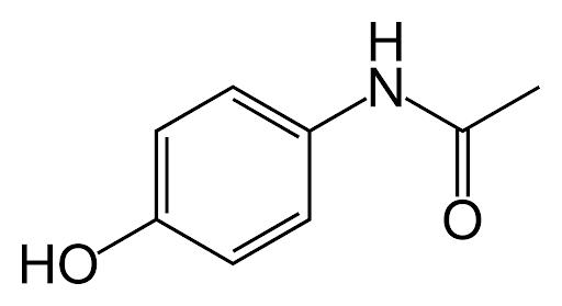 Paracetamol estructura