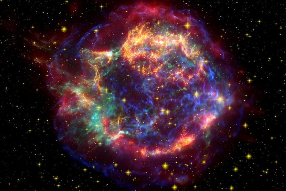 Lugares más calientes universo