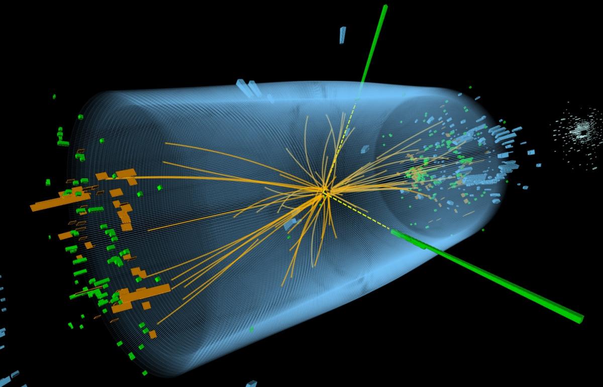 Colisión protones