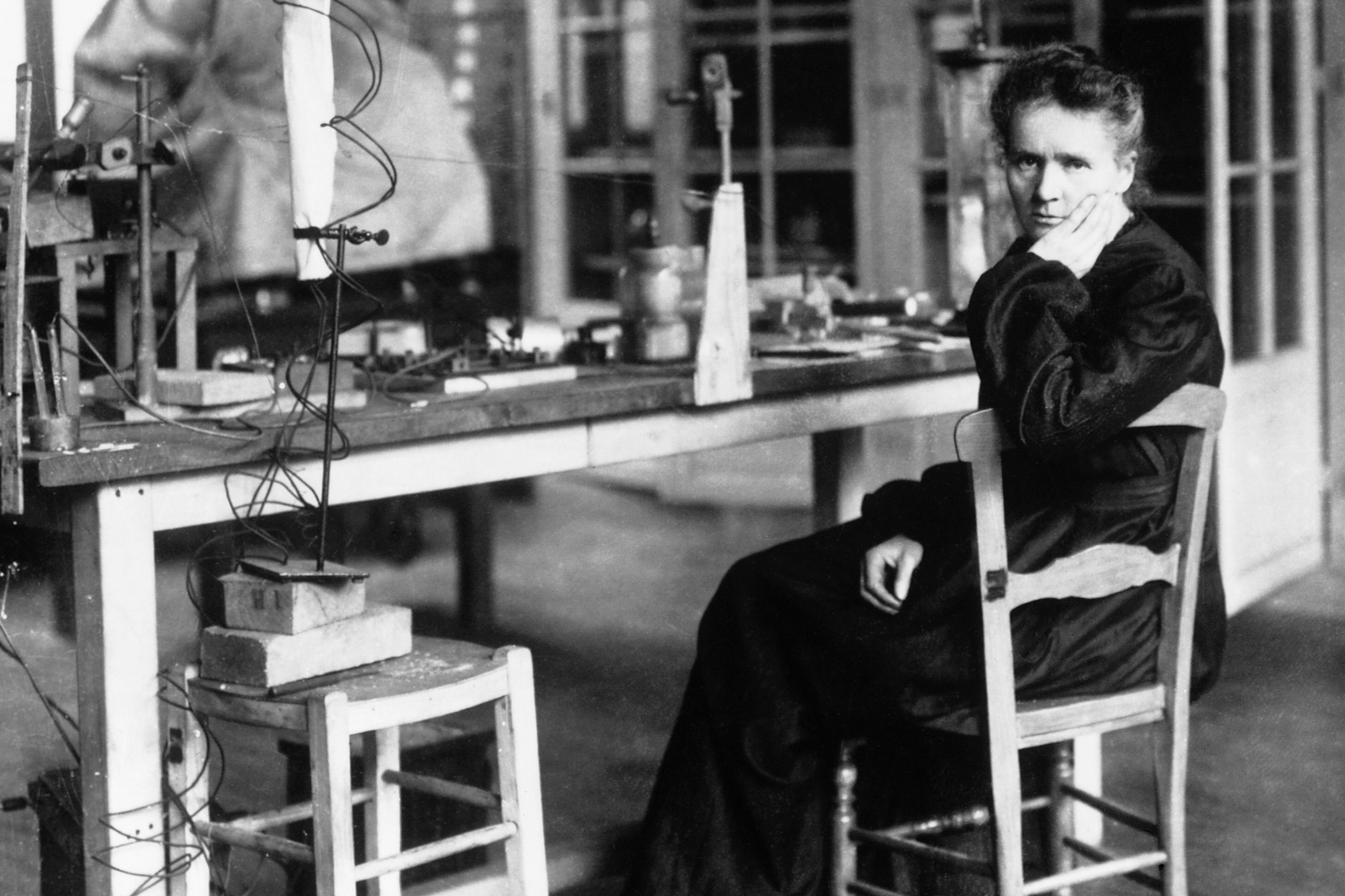 Marie Curie laboratorio