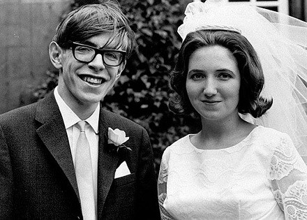 Stephen y Jane Hawking