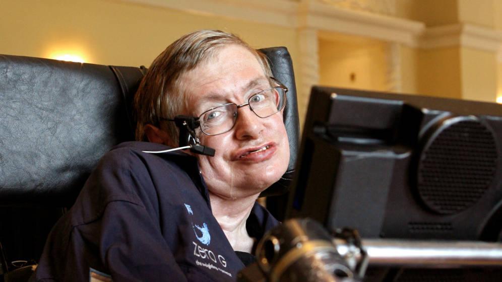Stephen Hawking en silla de ruedas
