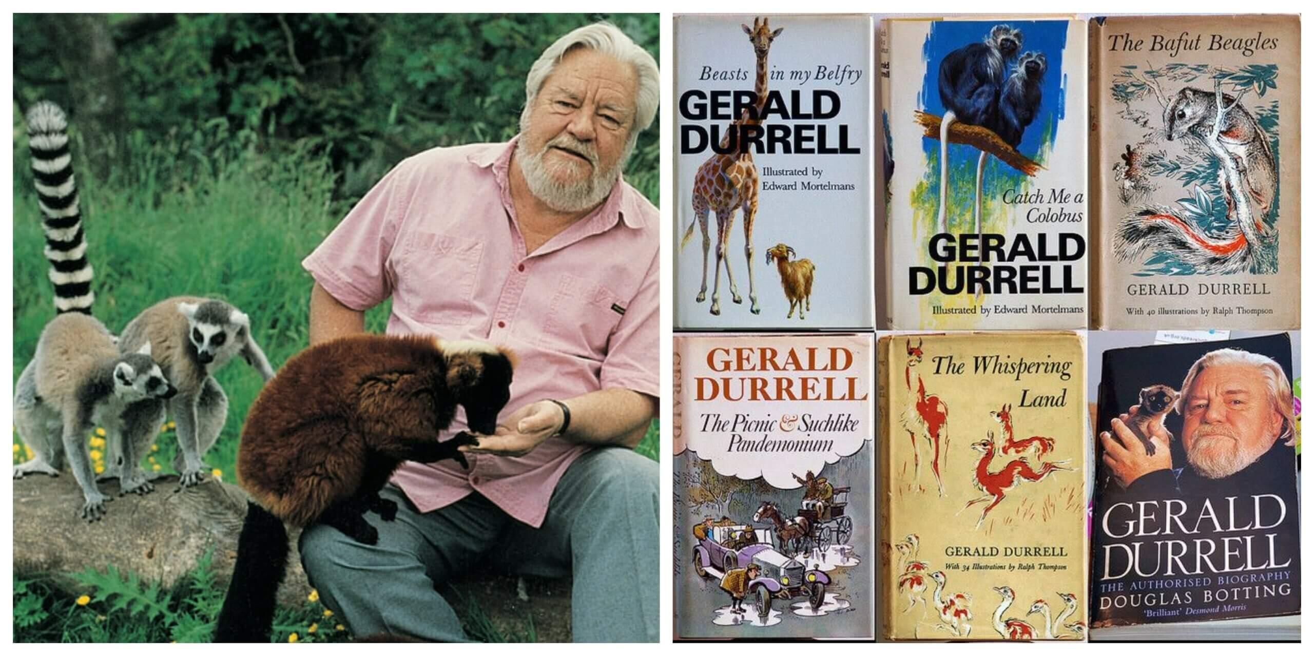 Gerard Durrell libros