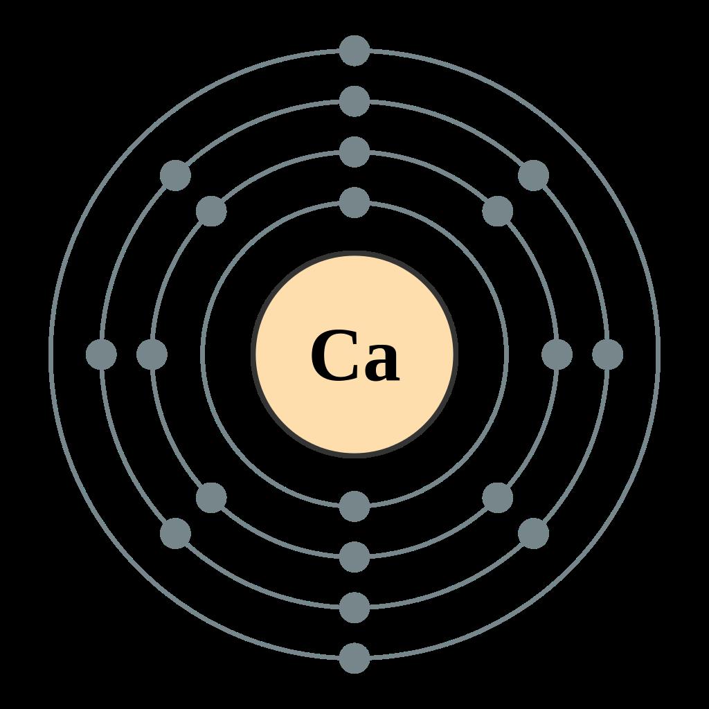 Calcio átomo