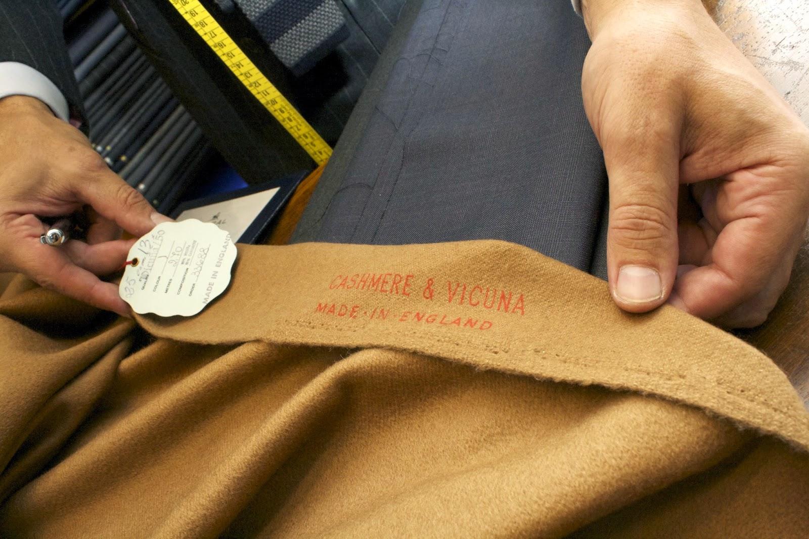 Vicuña lana