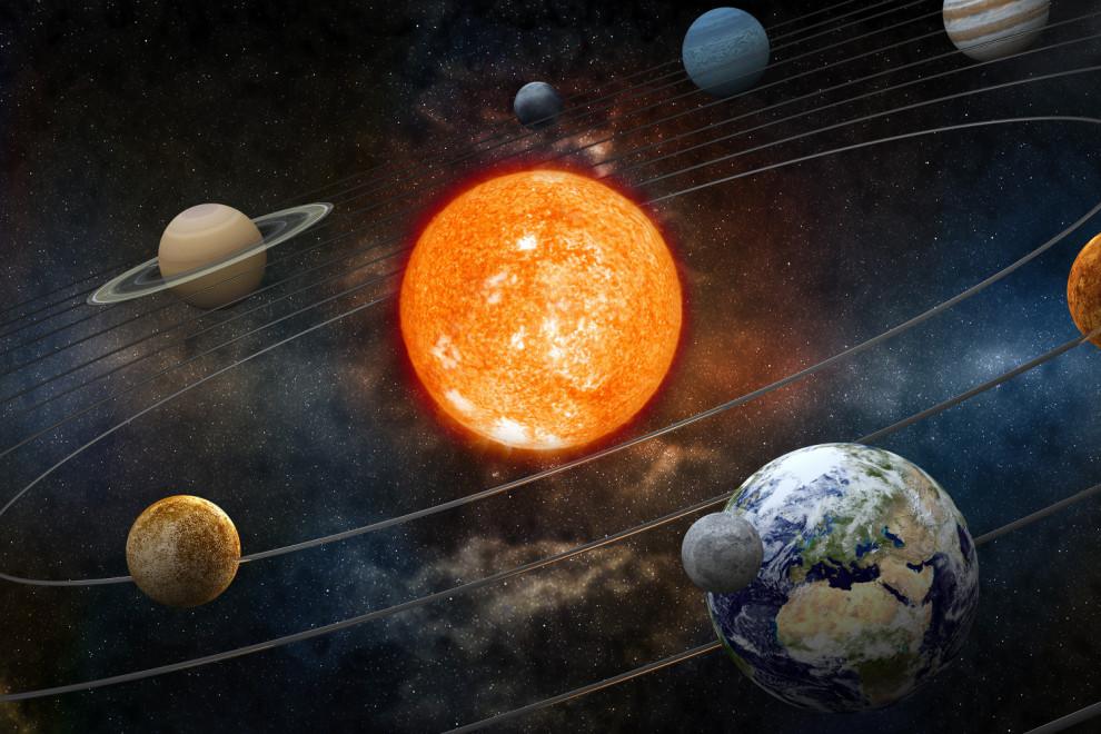 Por qué giran planetas