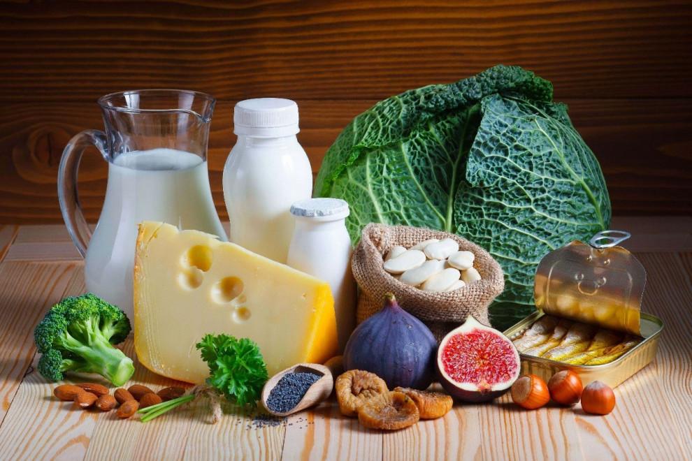 Alimentos ricos calcio