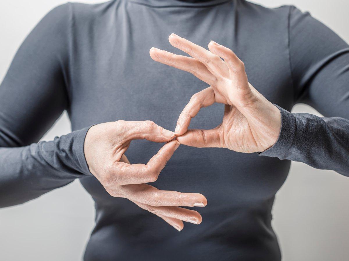 Comunicación por señas