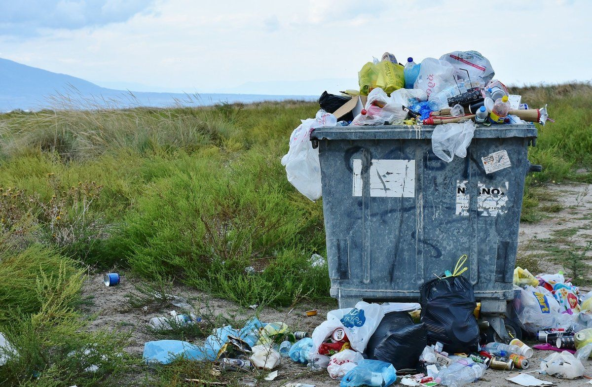 Contaminación por basura
