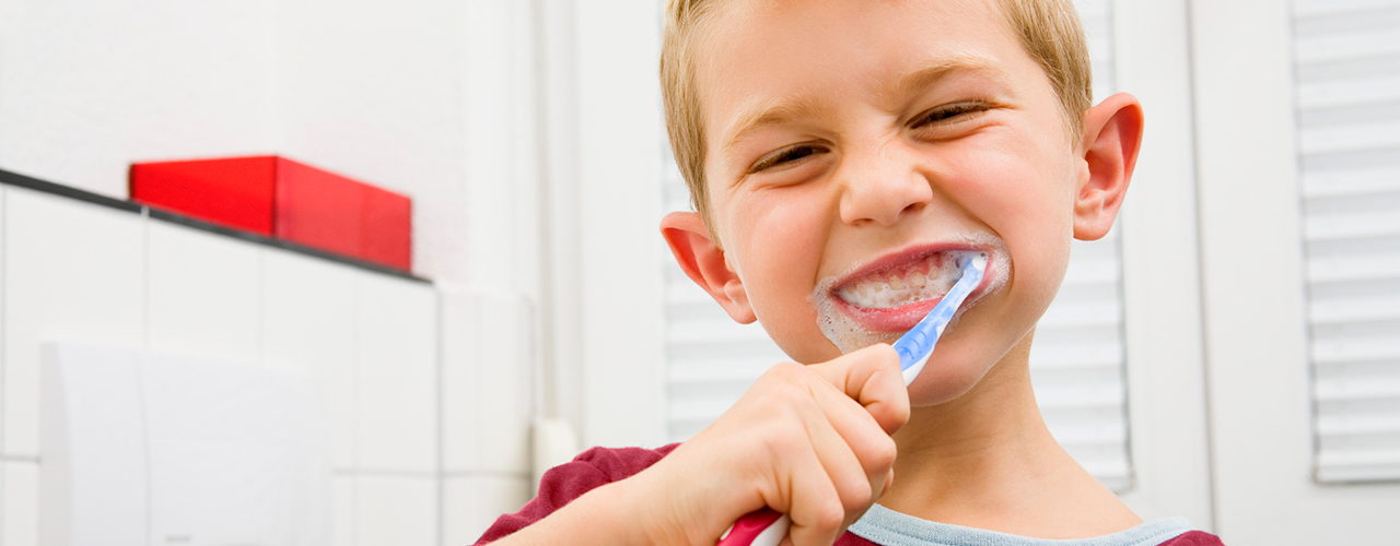 Lavarse dientes
