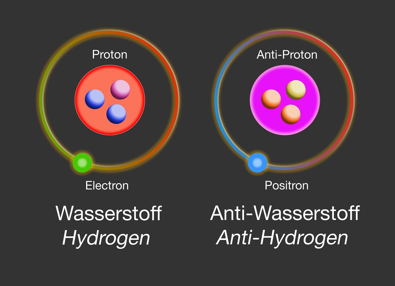 Qué es antimateria