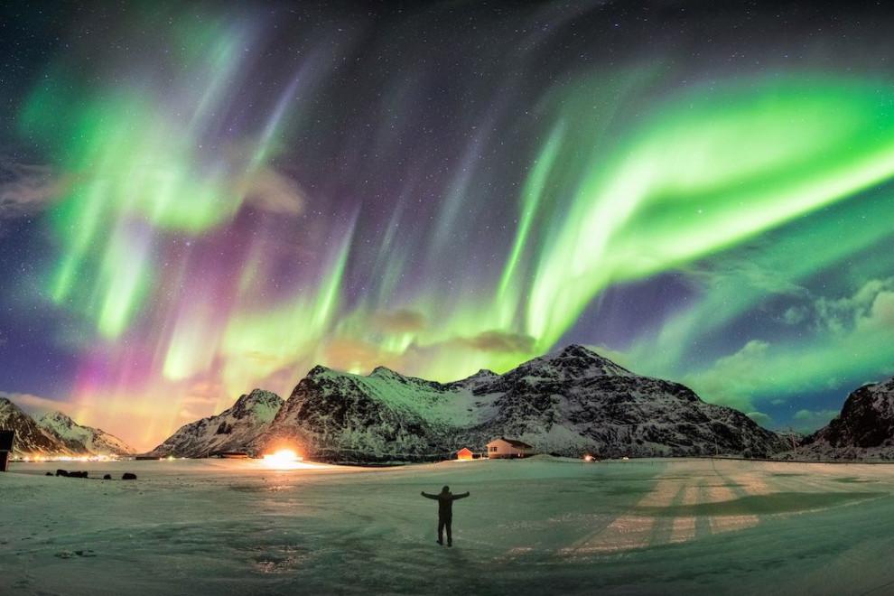 Por qué forma aurora boreal