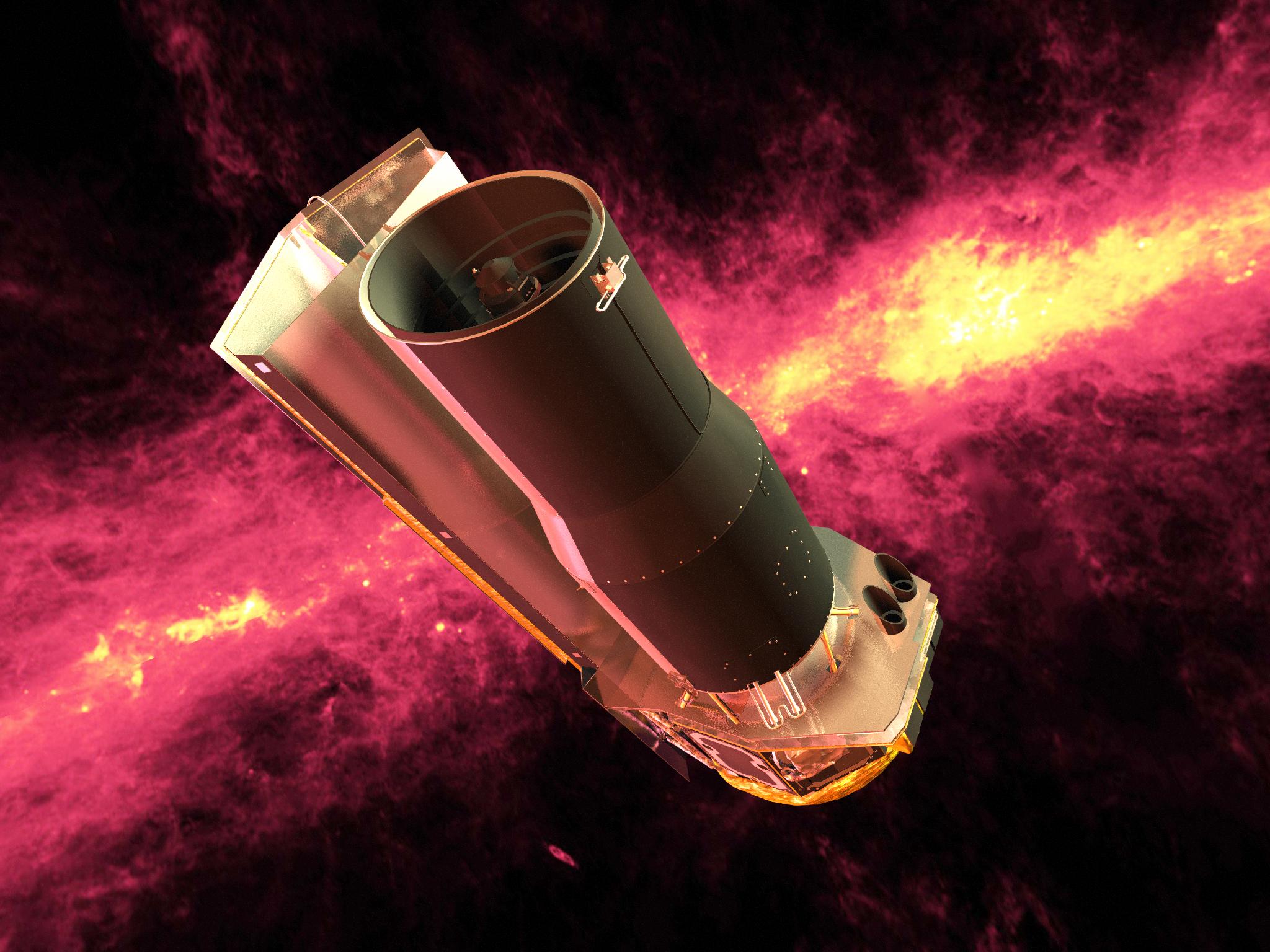 Telescopio infrarrojos