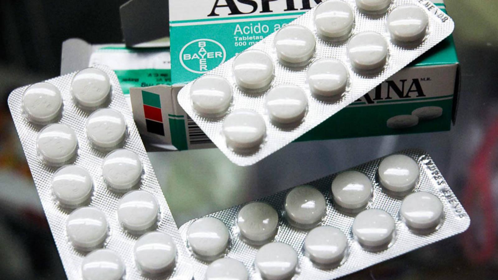 Aspirina dolor muelas