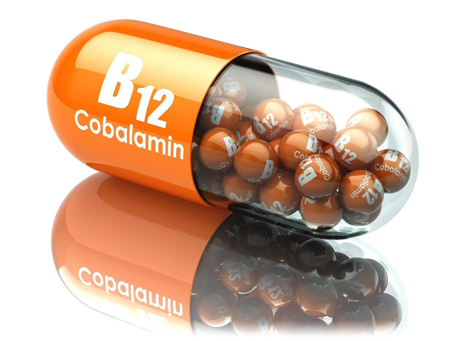 Qué es déficit vitamina b12