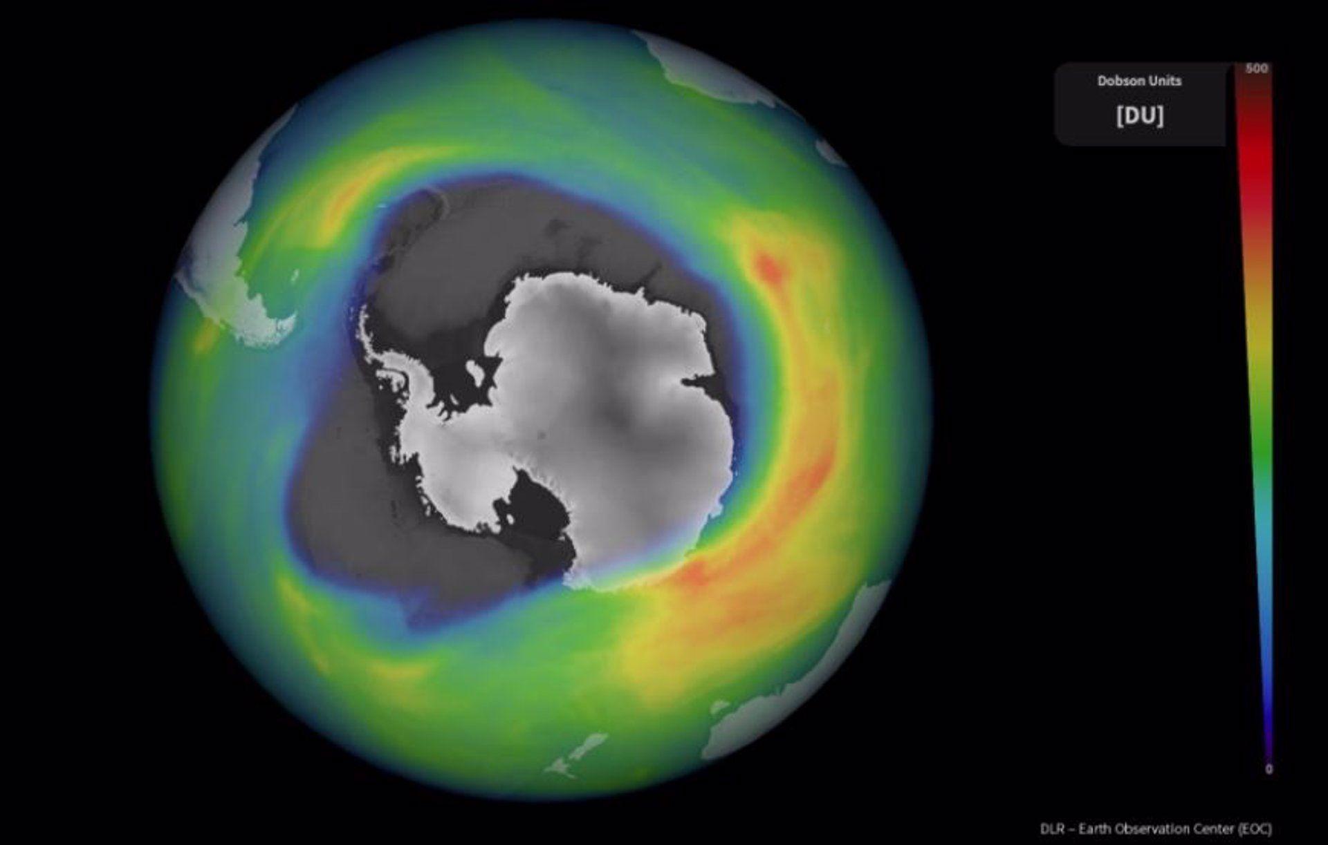 Qué es agujero capa ozono