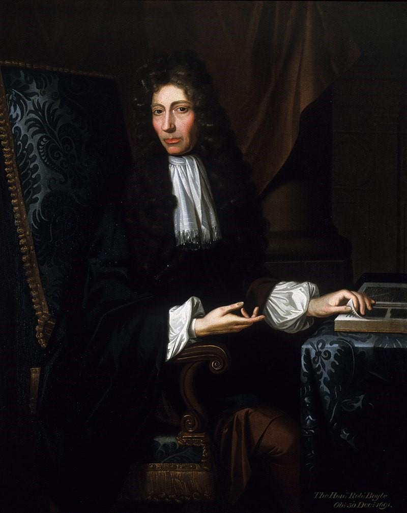 Robert Boyle vida