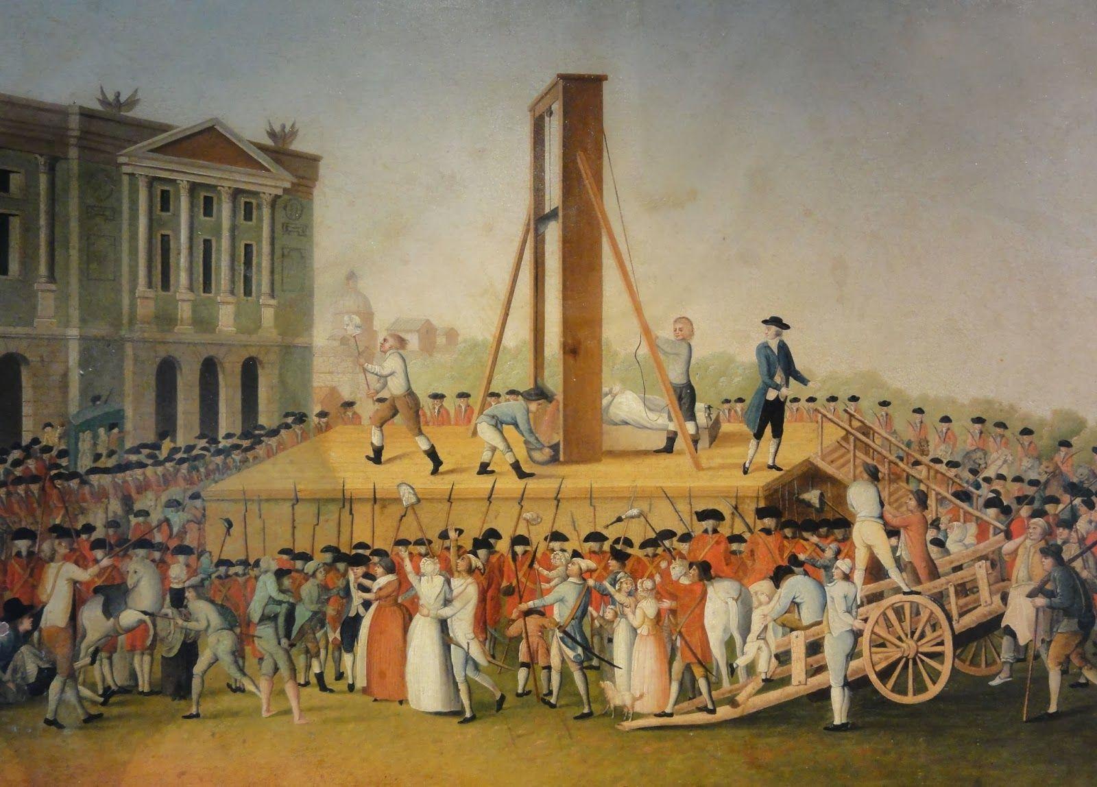 Antoine Lavoisier guillotina