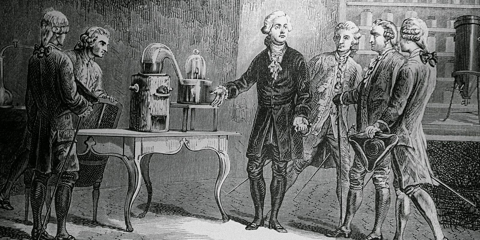 Antoine Lavoisier experimento