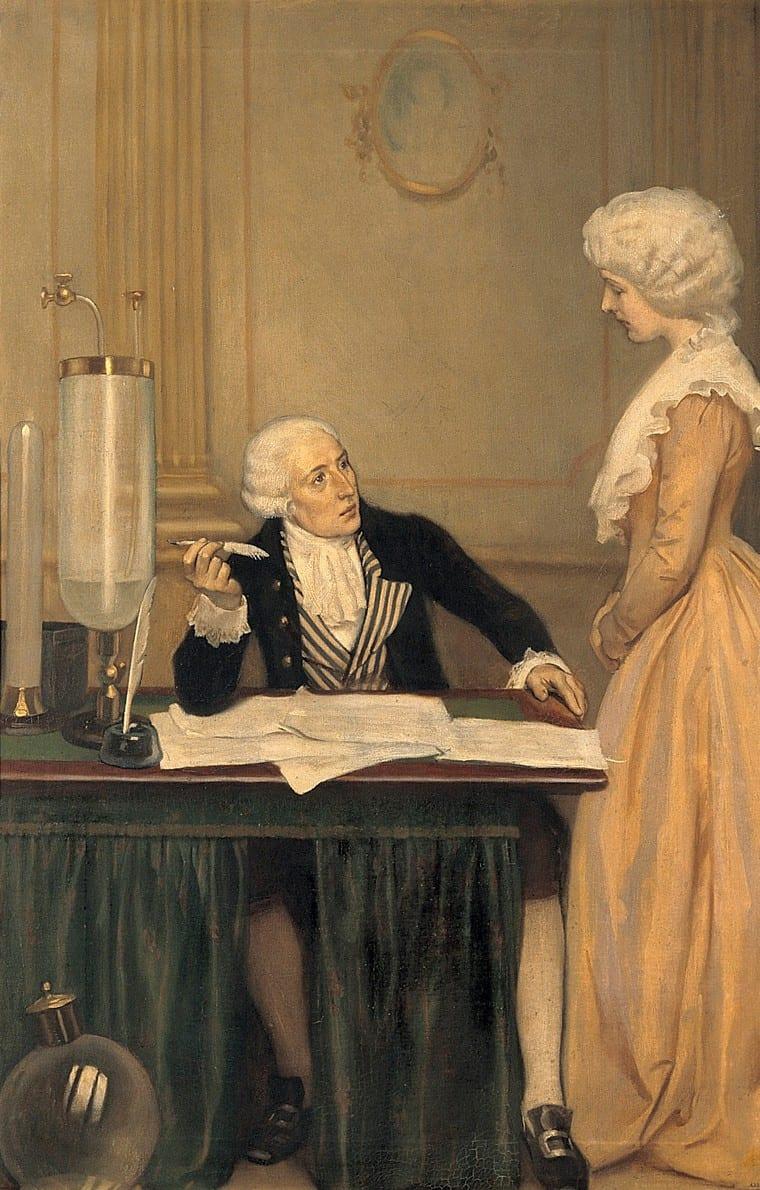 Antoine Lavoisier esposa