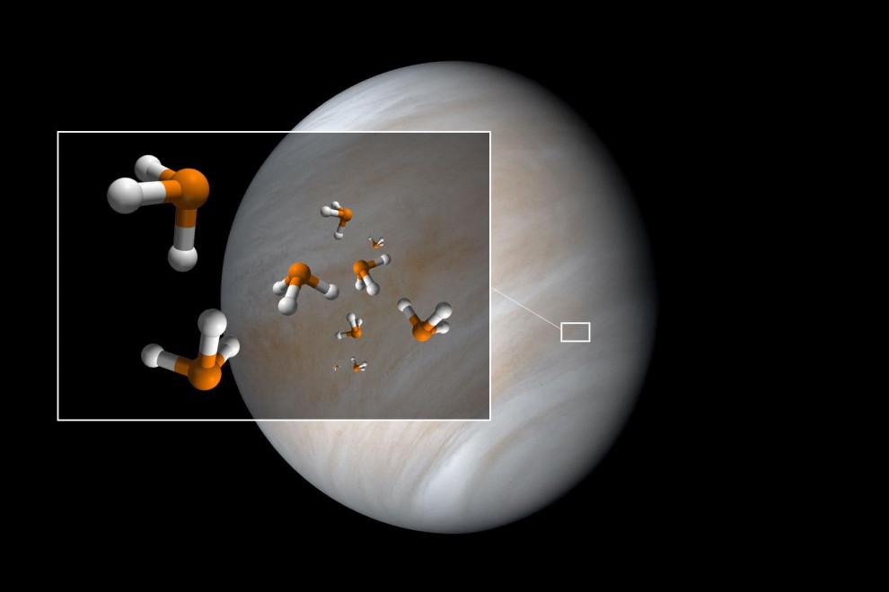Fosfina existe vida en Venus