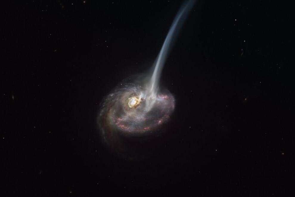 Espacio intergaláctico qué hay entre galaxias
