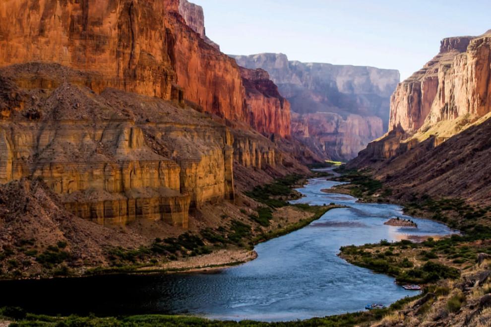 Partes río