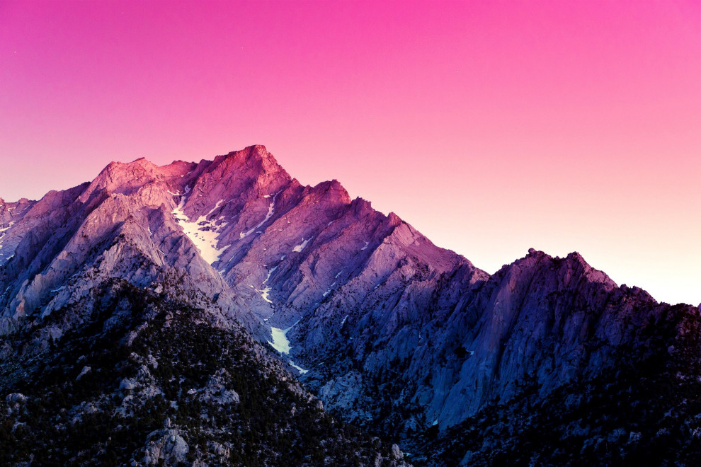 Partes montaña