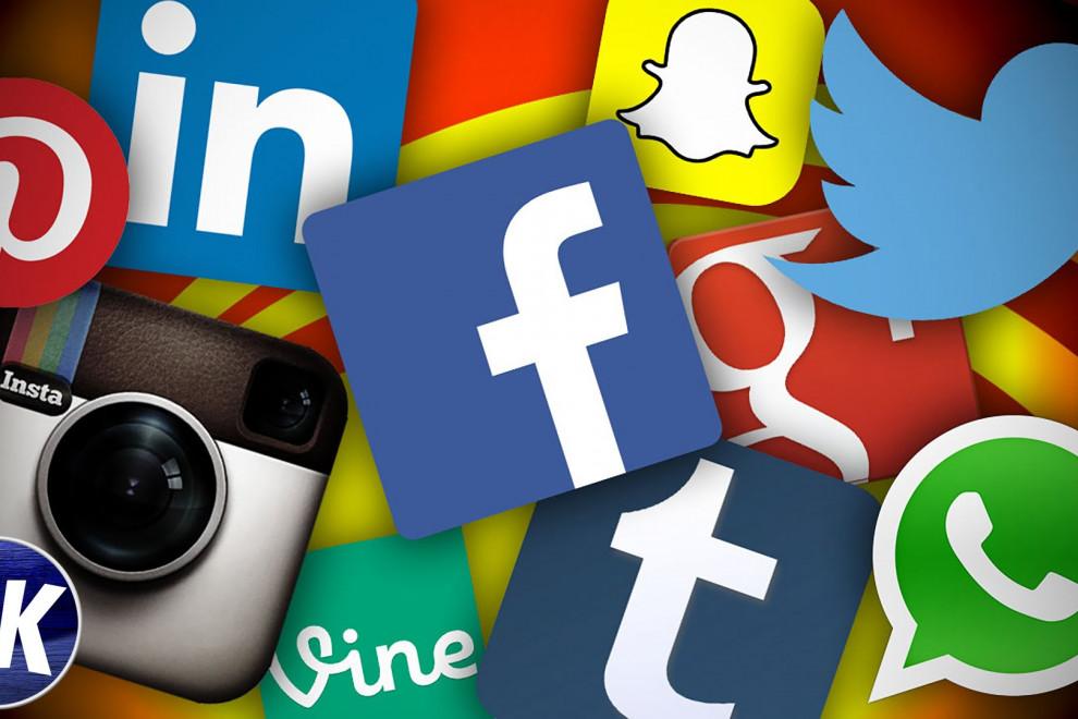 Redes sociales más usadas mundo