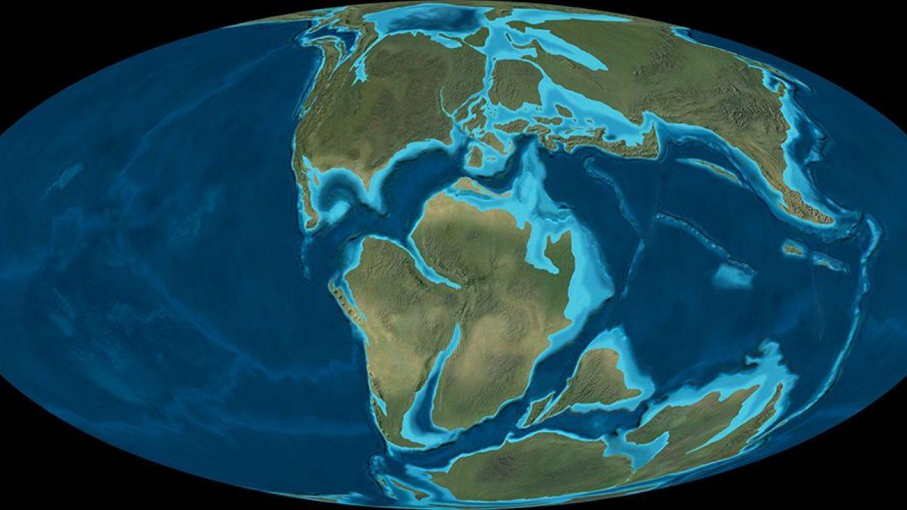 Paleogeografía
