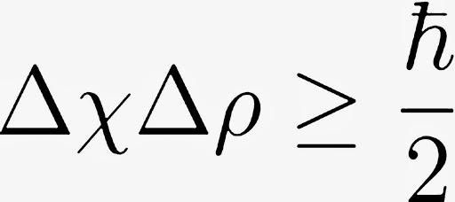 Principio incertidumbre fórmula