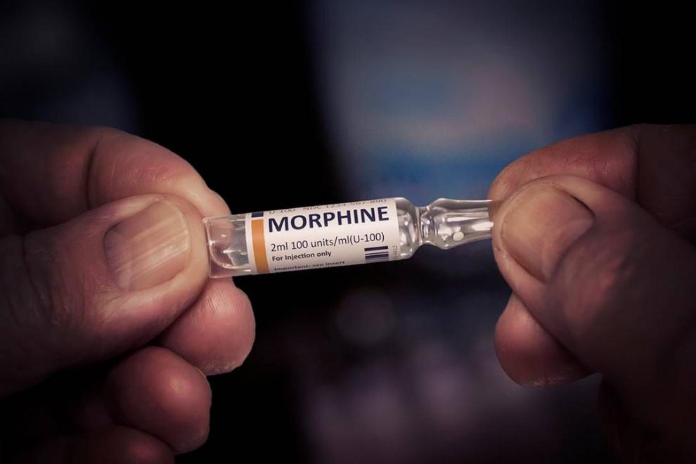 Tratamiento con morfina