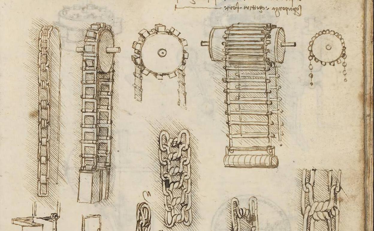 Da Vinci máquinas