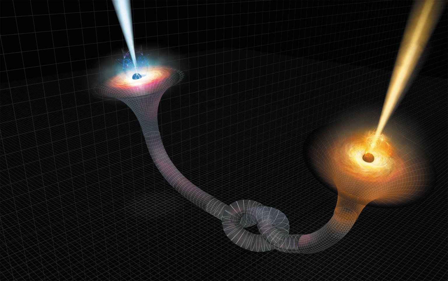 Agujero gusano cuántico
