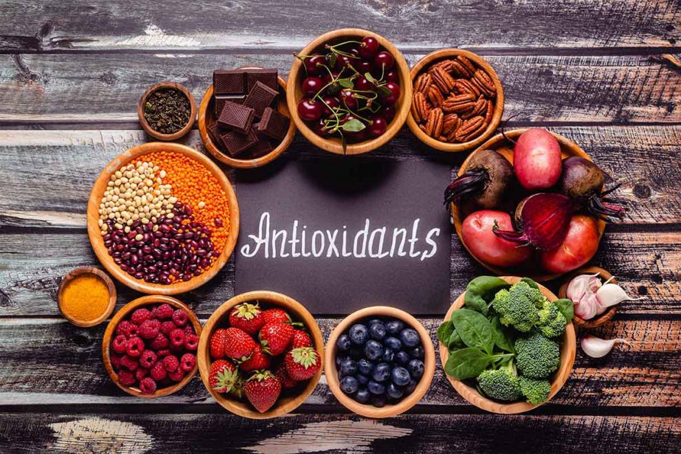 Alimentos más ricos en antioxidantes