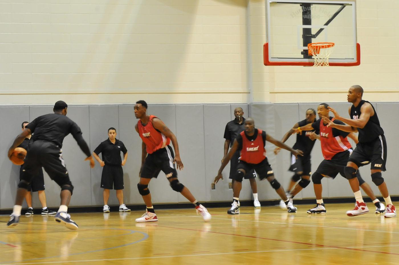 Entrenamiento basket