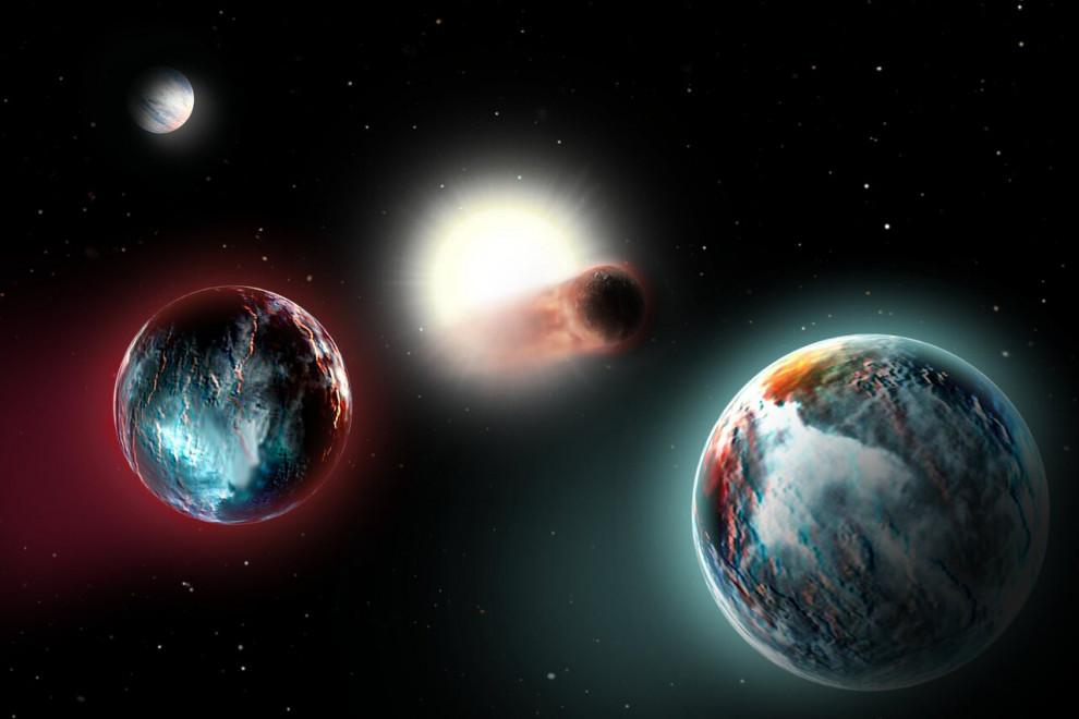 Métodos para descubrir planetas